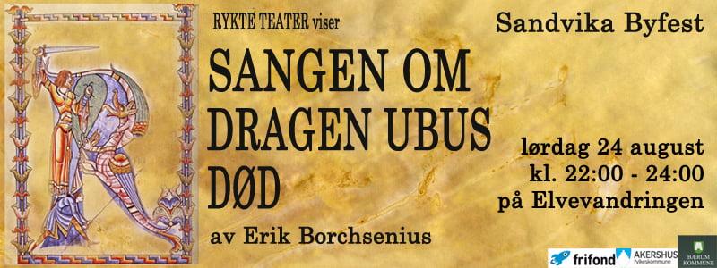 Sangen om Ubus død - Sandvika byfest